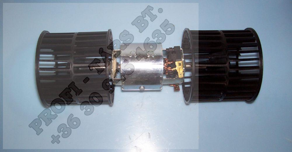 Fűtőventilátor motor 12V komplett AVIA, ZETOR,